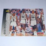 1993-94 Upper Deck San Antonio Spurs Basketball Card #233 D.Robinson/Group